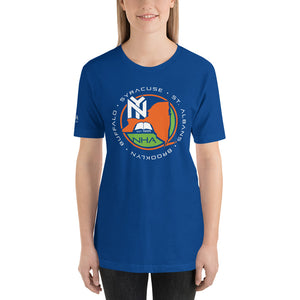 NHA Brooklyn Scholars 11 Desiree Kirton Blue T-Shirt - CALFI
