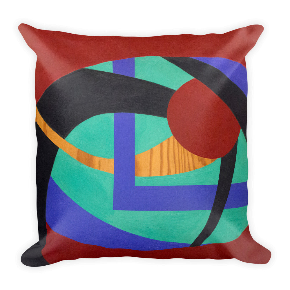 Square Pillow: Think About It - CALFI