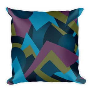 Square Pillow: Cerulean Reverie - CALFI