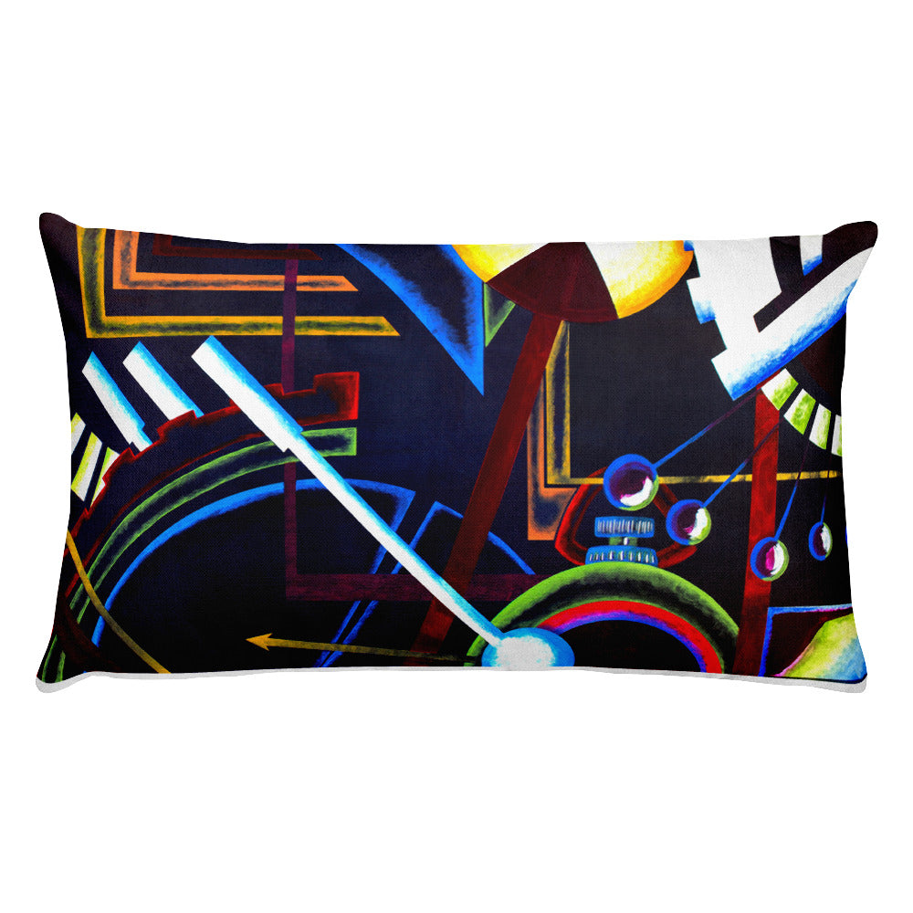Lumbar Pillow: Chroma Chronos - CALFI
