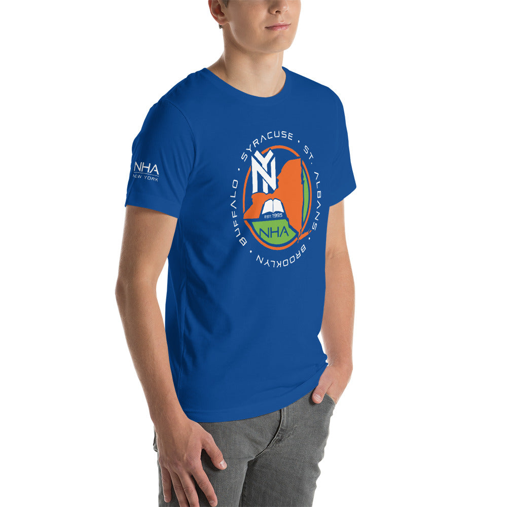NHA Brooklyn Dreams 4 Omar Thomas Blue T-Shirt - CALFI