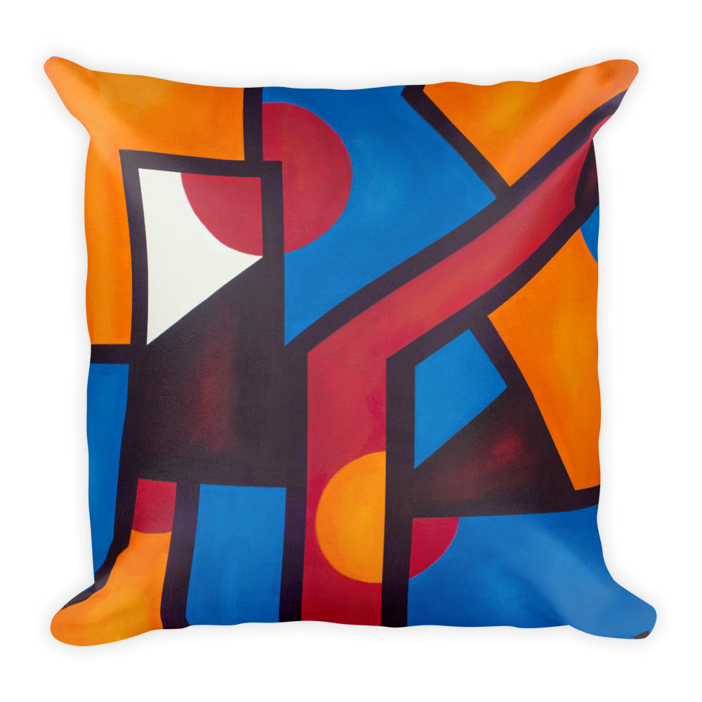 Square Pillow: Slice of Life