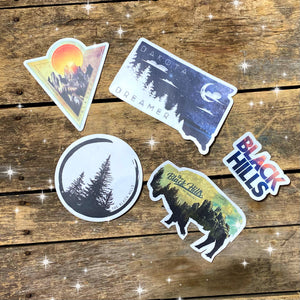 Black Hills Stickers
