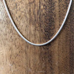 Sterling Silver Snake Chain (1.9mm)