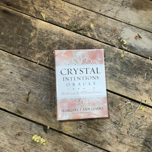 Crystal Intention Oracle Cards
