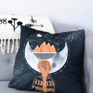 Moon Mother Pillow Case