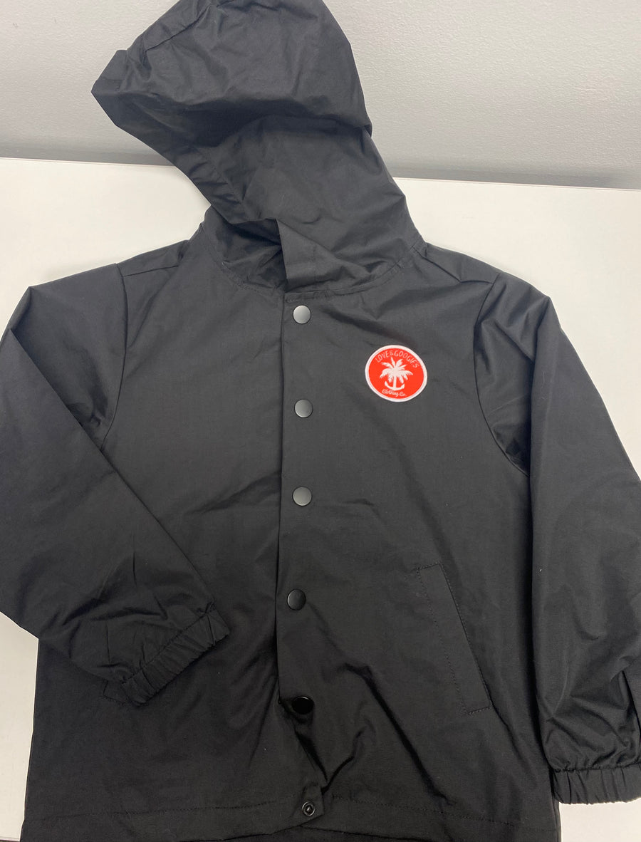 Supreme patch coaches windbreaker