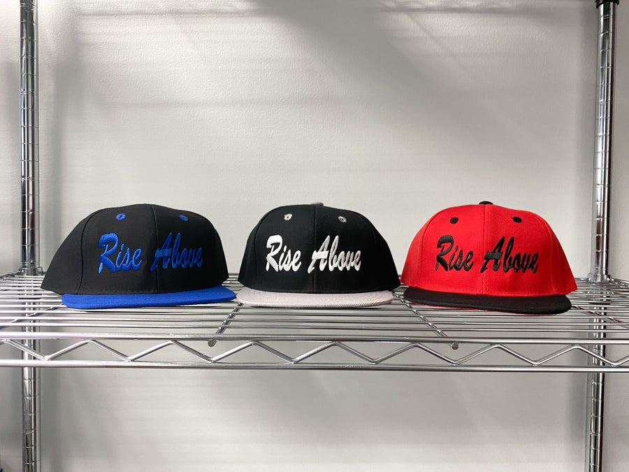 Kids Rise Above snapbacks