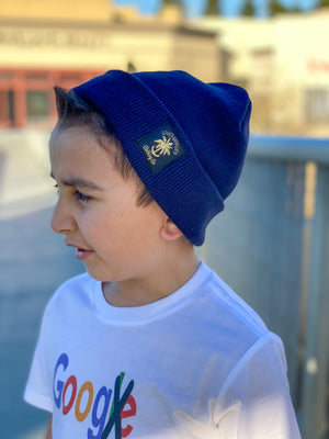 LOW PROFILE TAG BEANIE