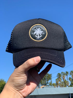 Adult logo patch trucker hat