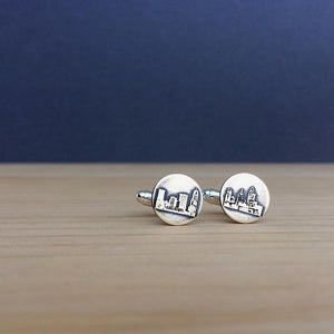 Cincinnati skyline cufflinks