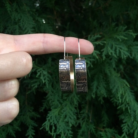 birch bark earrings jaci riley jewelry