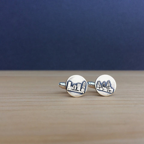 cincinnati skyline cufflinks jaci riley jewelry