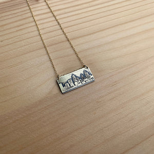 cincinnati skyline necklace jaci riley jewelry