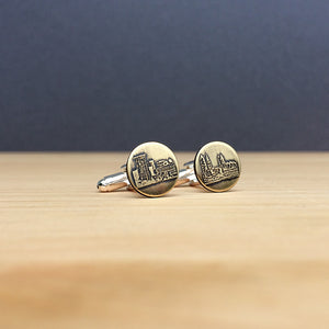 cleveland ohio skyline cufflinks jaci riley jewelry