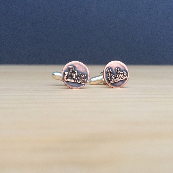 cleveland cufflinks jaci riley jewelry