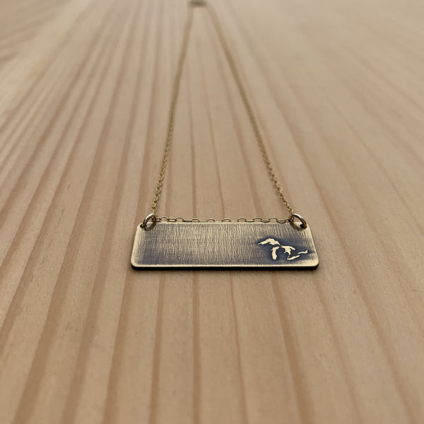 the Great Lakes necklace