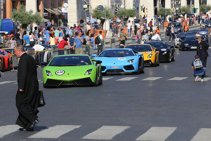How Many Lamborghini Aventador Models Do You Think There Are?