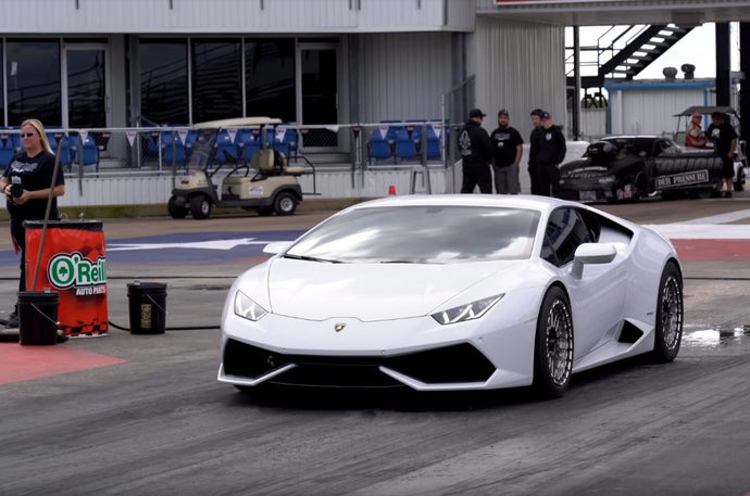 2000 HP Lamborghini Huracan Does a Quarter-Mile in Under 8 Seconds