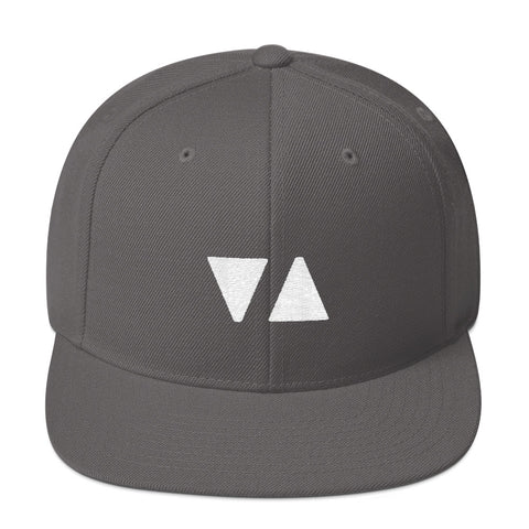 Elevator Pitch Buttons Grey Snapback Hat