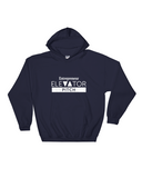 Elevator Pitch Grey Hooded Sweatshirt