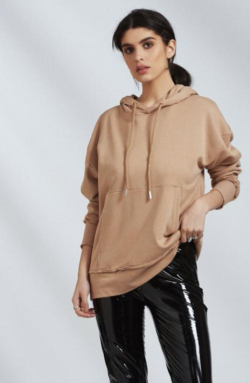 Sixth June Luxury Beige Hoody
