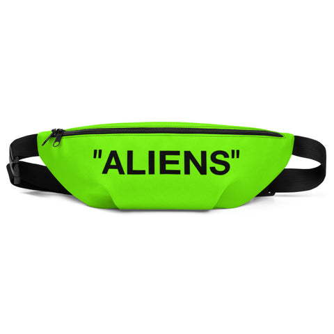 Sexy Halloween 2019 Costume Storm Area 51 Aliens Matching Neon Green Fanny Pack