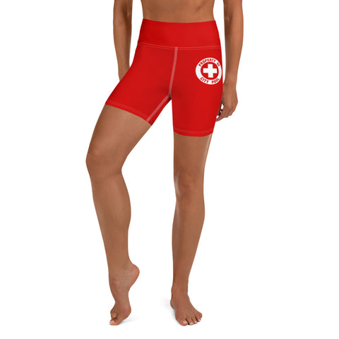 Sexy Halloween 2019 Costume Lifeguard Women's High Waist Shorts