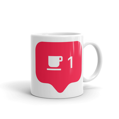 Funny Cute Like Notification Coffee Mug