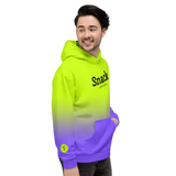 Neon Ultra Unisex Hooded Sweater | Ultra Violet