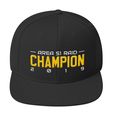 Storm Area 51 Raid 2019 Champion Hat