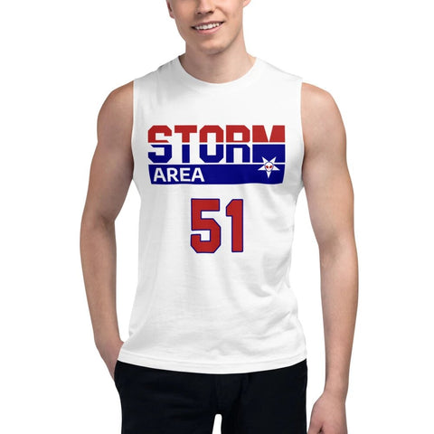 Storm Area 51 USA Sports Jersey Tank Top Muscle Shirt