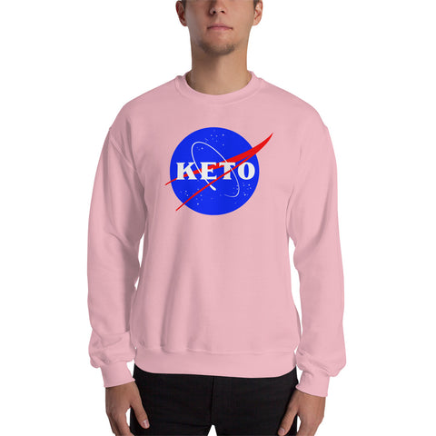 Keto Diet Nasa Unisex Sweatshirt