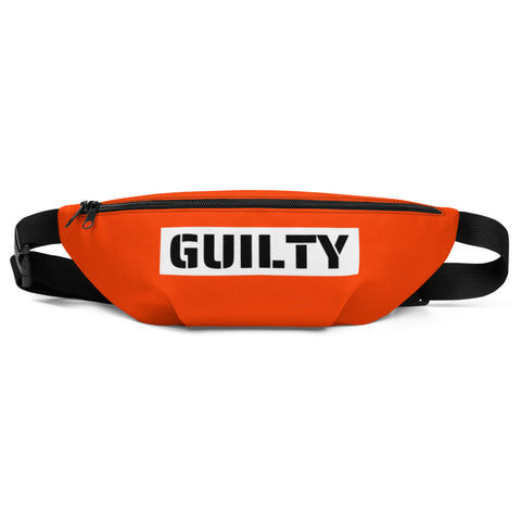 Sexy Halloween 2019 Costume Orange Jumpsuit Prison Inmate Matching Fanny Pack