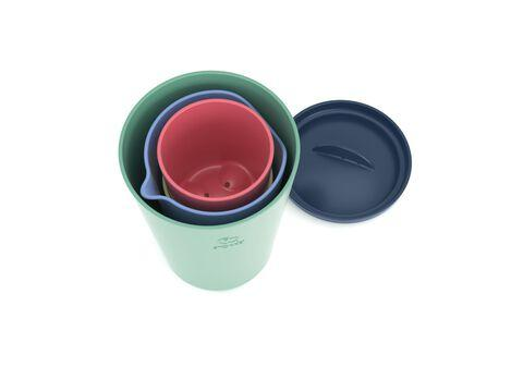 Vasos de Juguete Multicolor Flexi Bath