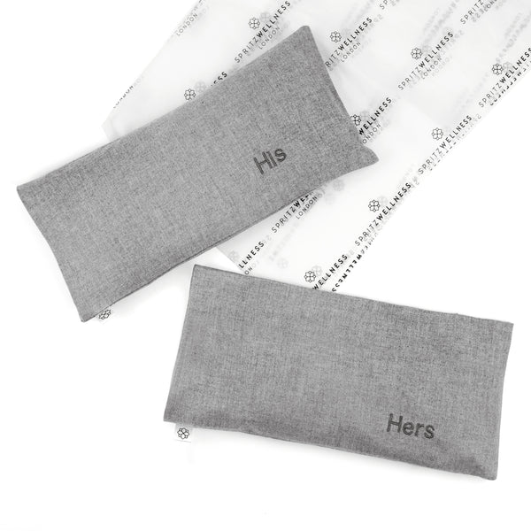 His & Hers Aromatherapy Eye Pillows