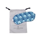 Spritz Wellness  Luxury Aromatherapy Eye Mask - Caesar Blue