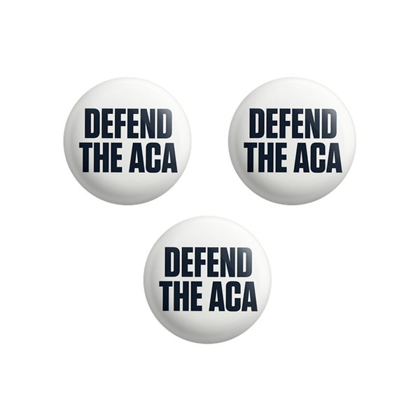 Defend the ACA Button Set