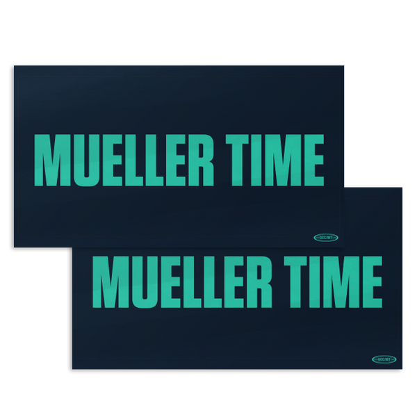 Mueller Time Sticker Combo