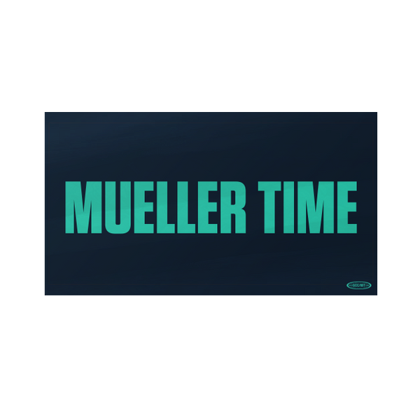 Mueller Time Single Sticker