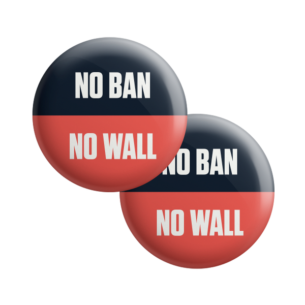 No Ban No Wall Bold Button Combo