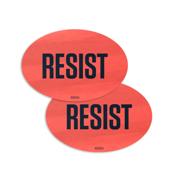 Bold Resist Sticker Combo