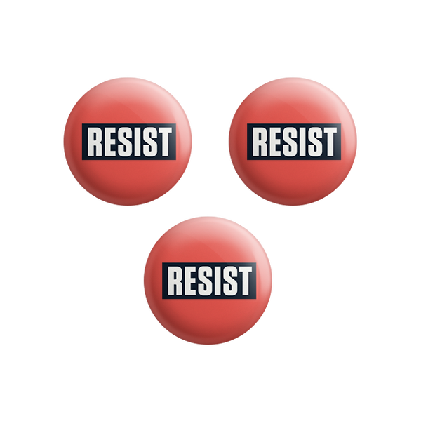 Bold Resist Button Set