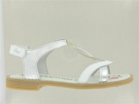 Eac Silver/White/Gold Sandals