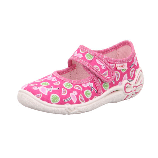 Pink Belinda Flamingo Canvas Shoes