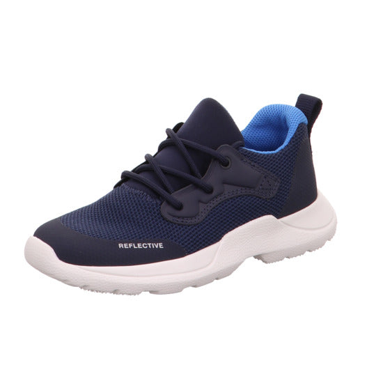 Blau/Blau Rush Navy Lace-up Trainers