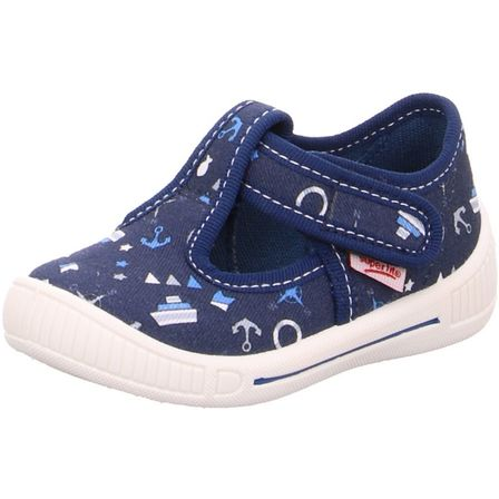Blau Nautical Canvas Shoe
