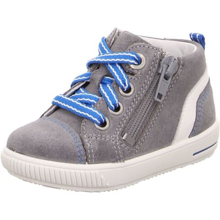 Moppy Grey/White Hi-Top