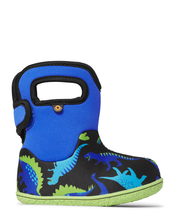 Baby Bogs Dino Electric Blue/Multi