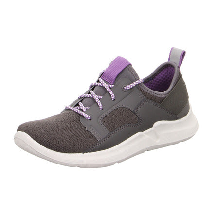 Thunder Grey/lilac Trainers